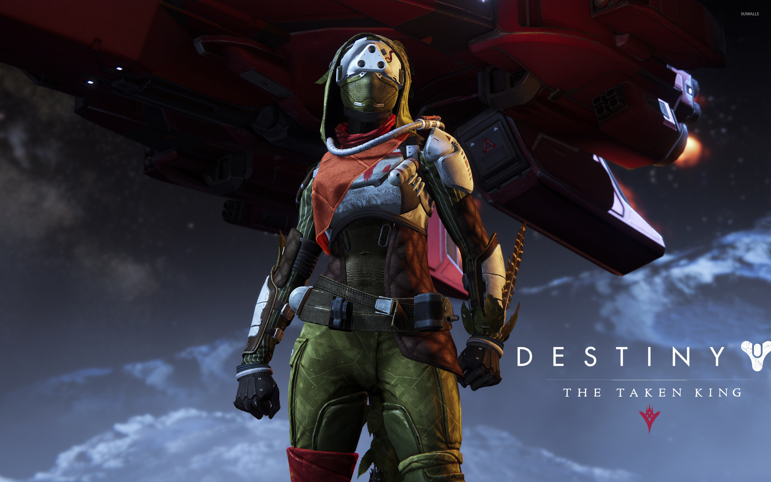 2560x1600 Hunter female - Destiny: The Taken King wallpaper - Game wallpapers .