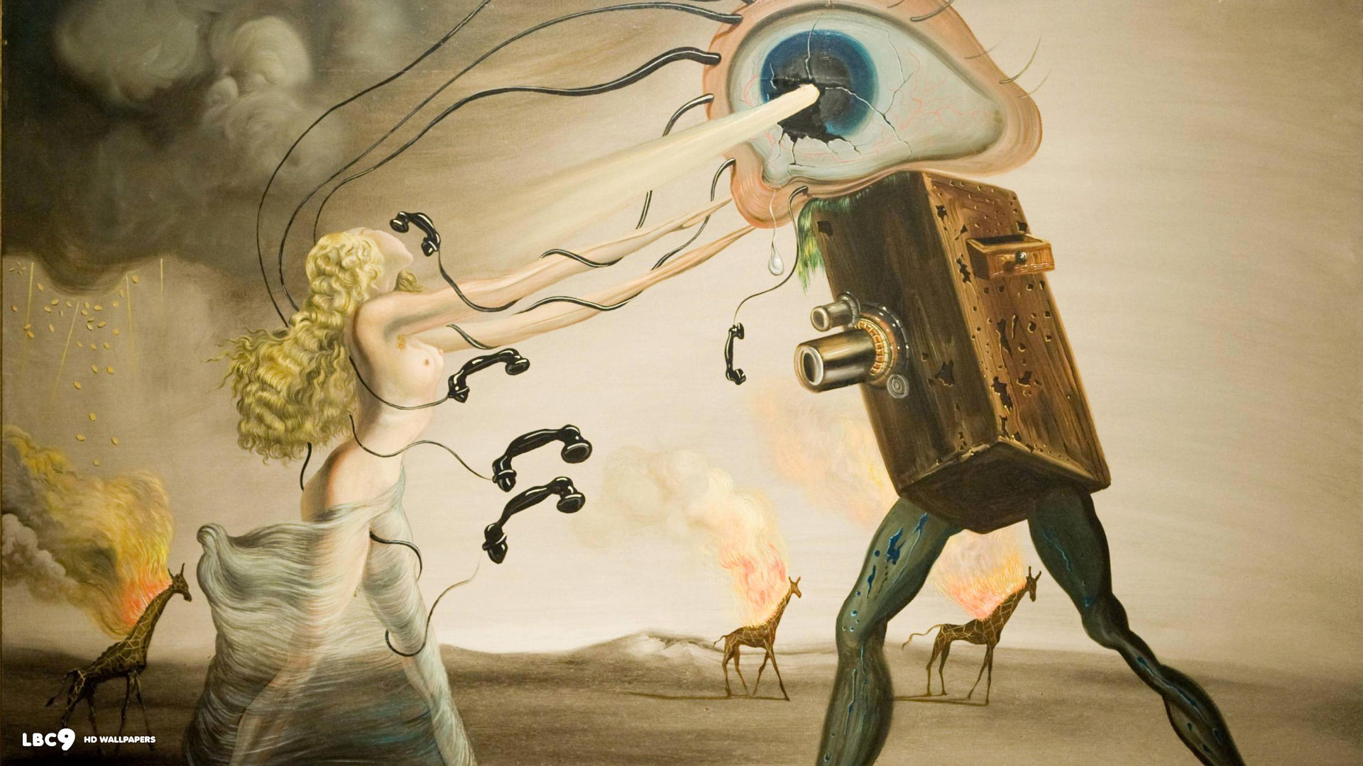 1920x1080 salvador dali wallpaper 438 paintings hd backgrounds