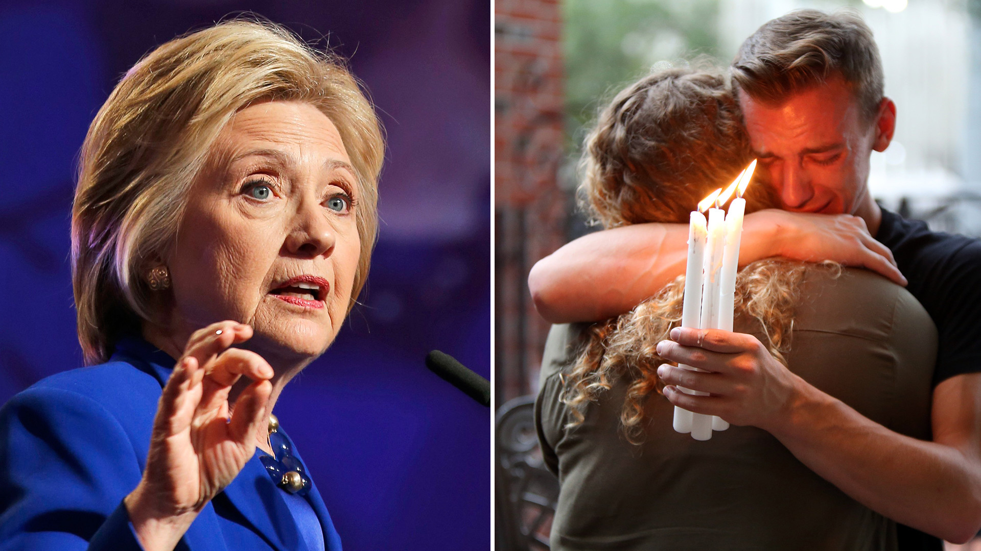 1920x1080 Hillary Clinton reacts to Orlando shooting: I won't 'declare war' on a  religion - TODAY.com