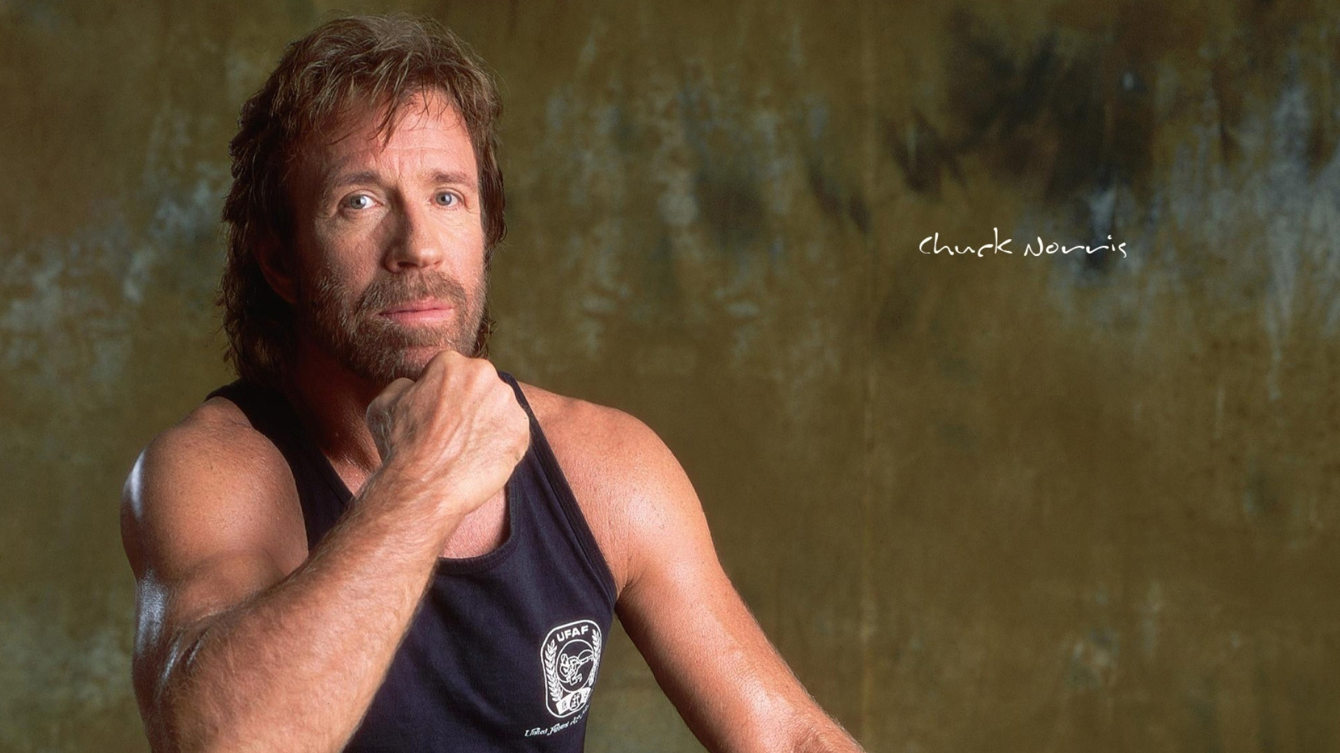 1920x1080  Wallpaper chuck norris, man, actor, shirt, celebrity, hollywood