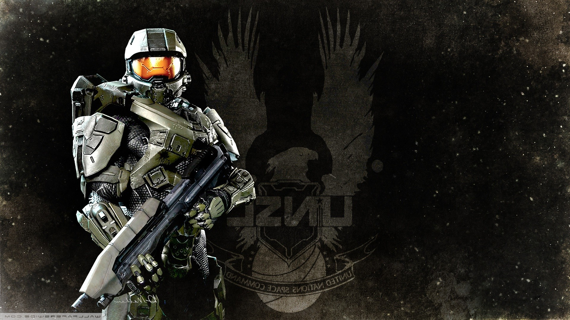 1920x1080 Halo, Master Chief, Halo 4, Xbox One, Halo: Master Chief Collection, Video  Games, Artwork, UNSC Wallpapers HD / Desktop and Mobile Backgrounds