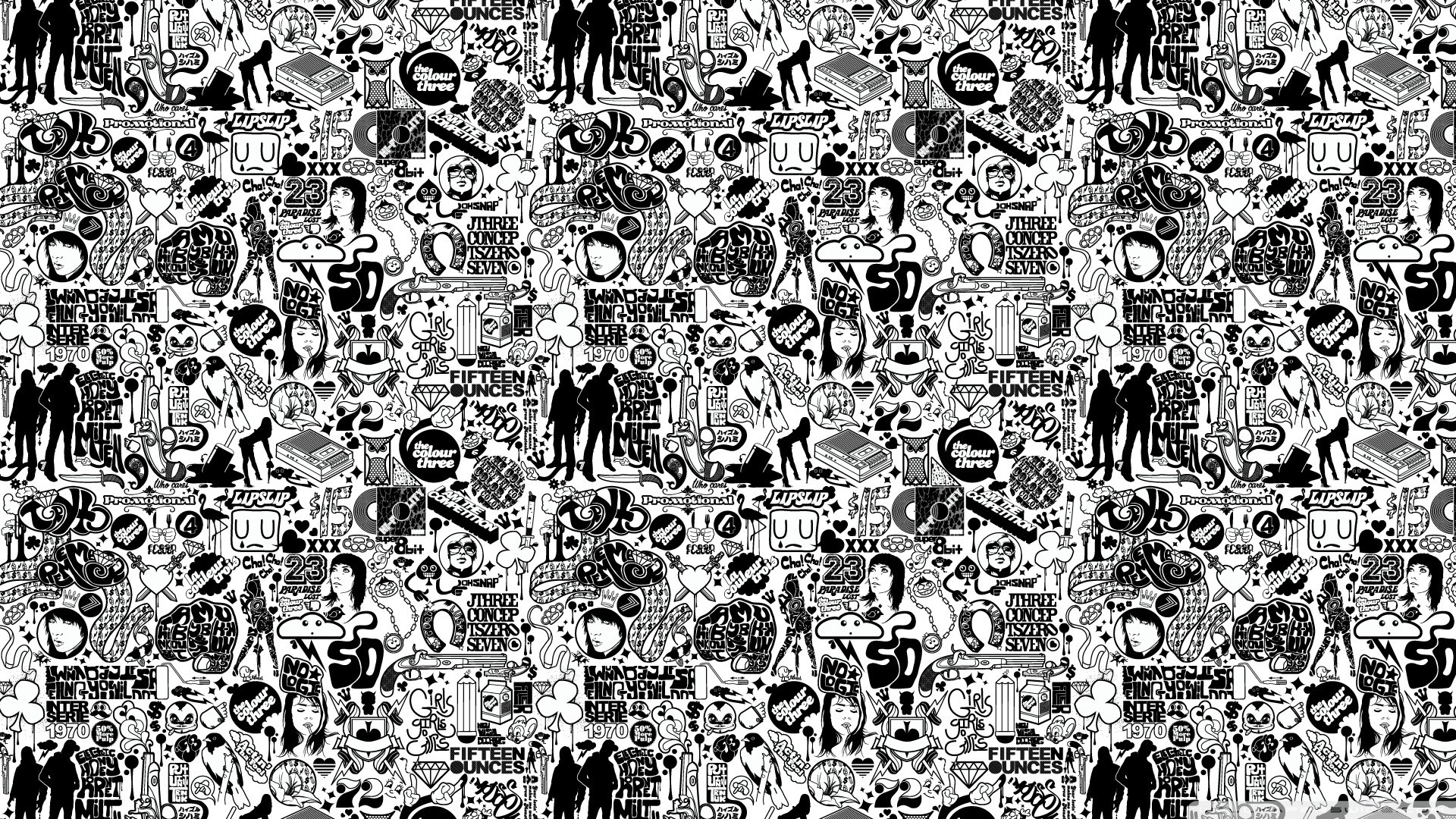 1920x1080 White And Black Wallpaper Designs 4 Cool