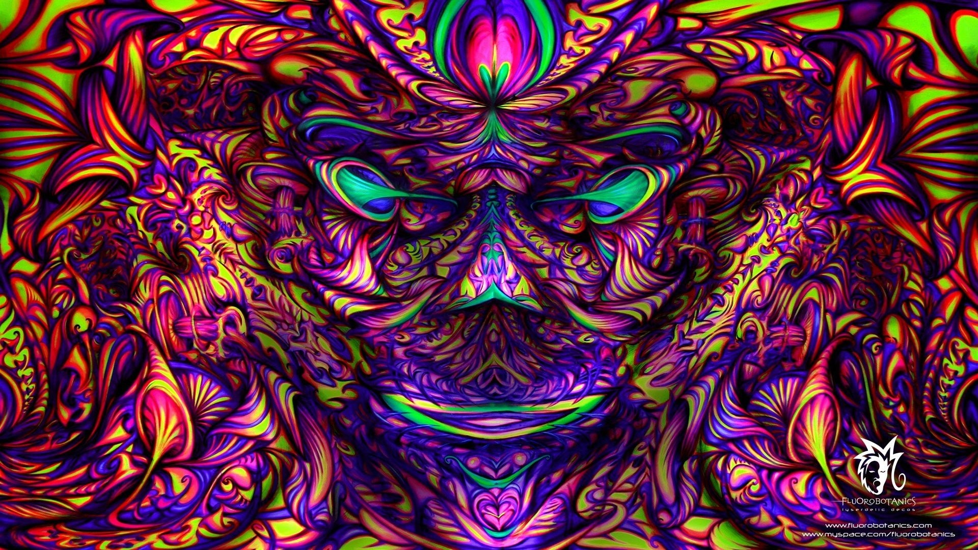 1920x1080 Trippy Psychedelic Backgrounds (65 Wallpapers)