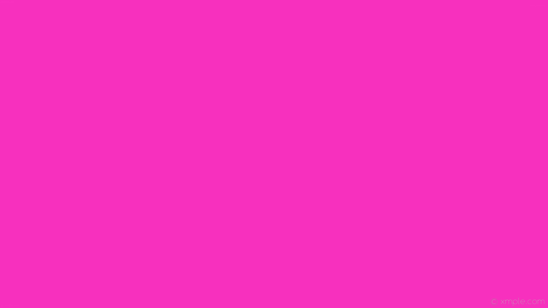1920x1080 wallpaper pink single plain one colour solid color #f731be