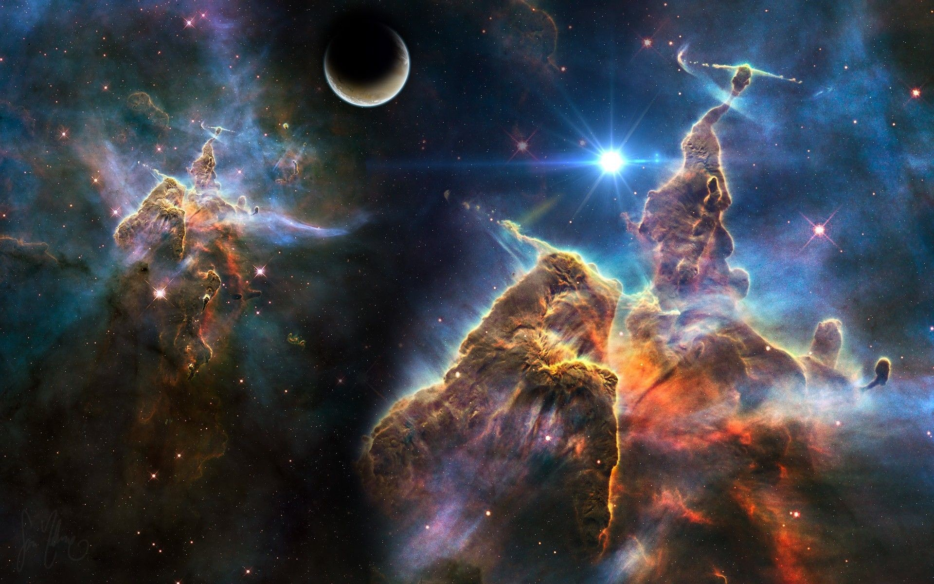 1920x1200 Trippy Space Wallpaper High Definition As Wallpaper HD
