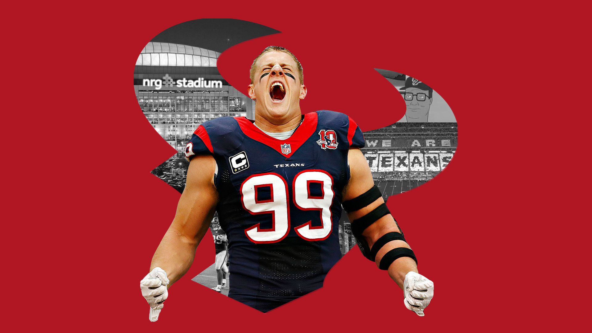 Here S A Wallpaper I Made 2 Pubattlegrounds: Houston Texans Wallpaper Jj Watt (76+ Images