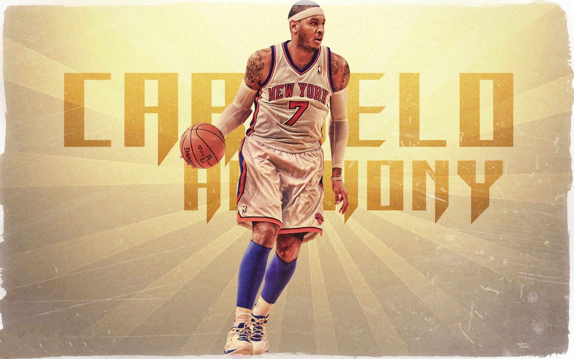 1920x1200 ... Carmelo Anthony New York Knicks Backgrounds For Desktop, Laptop and  Mobiles. Here You Can Download More than 5 Million Photography collections  Uploaded ...