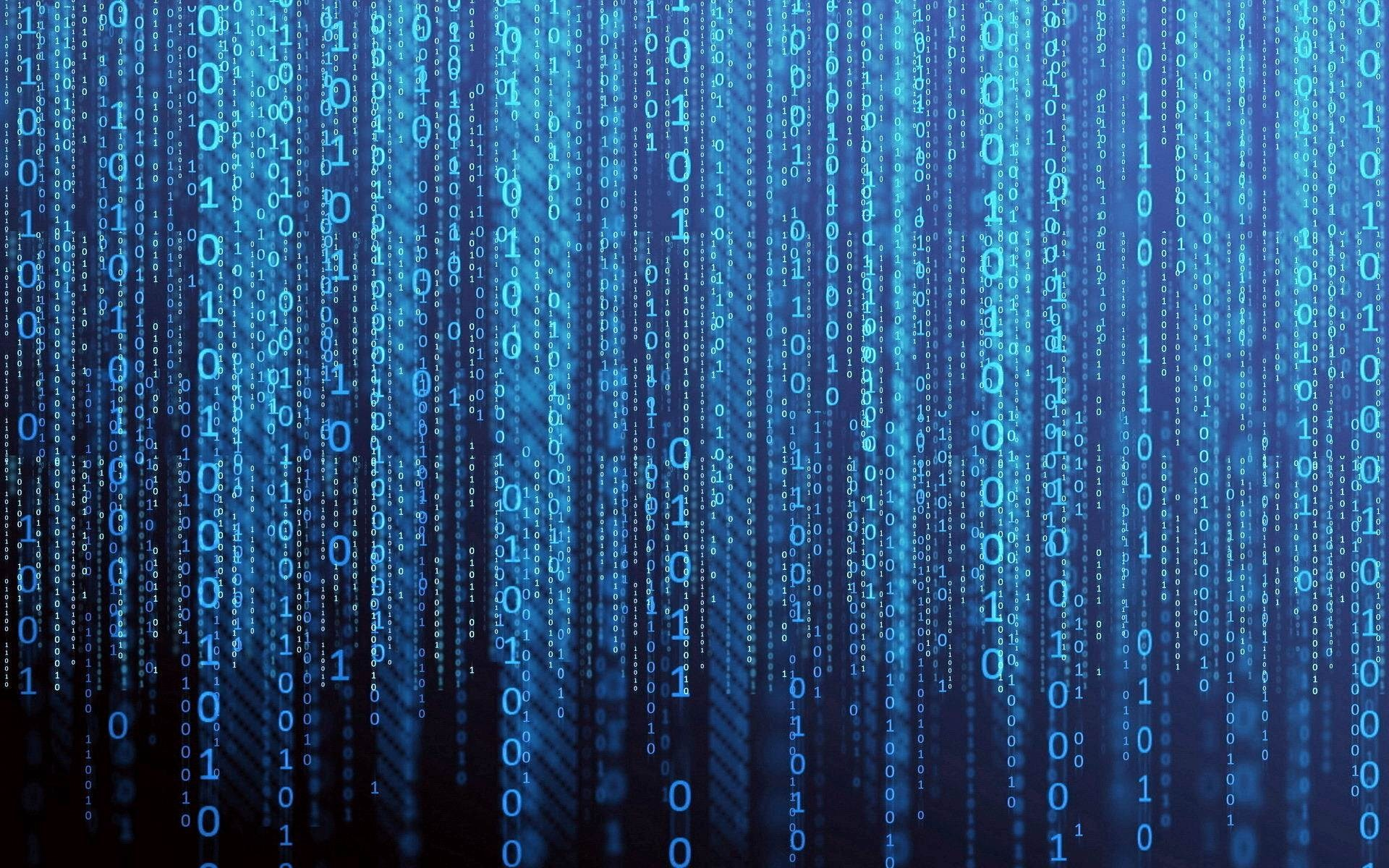 Blue Matrix Wallpaper (56+ images)