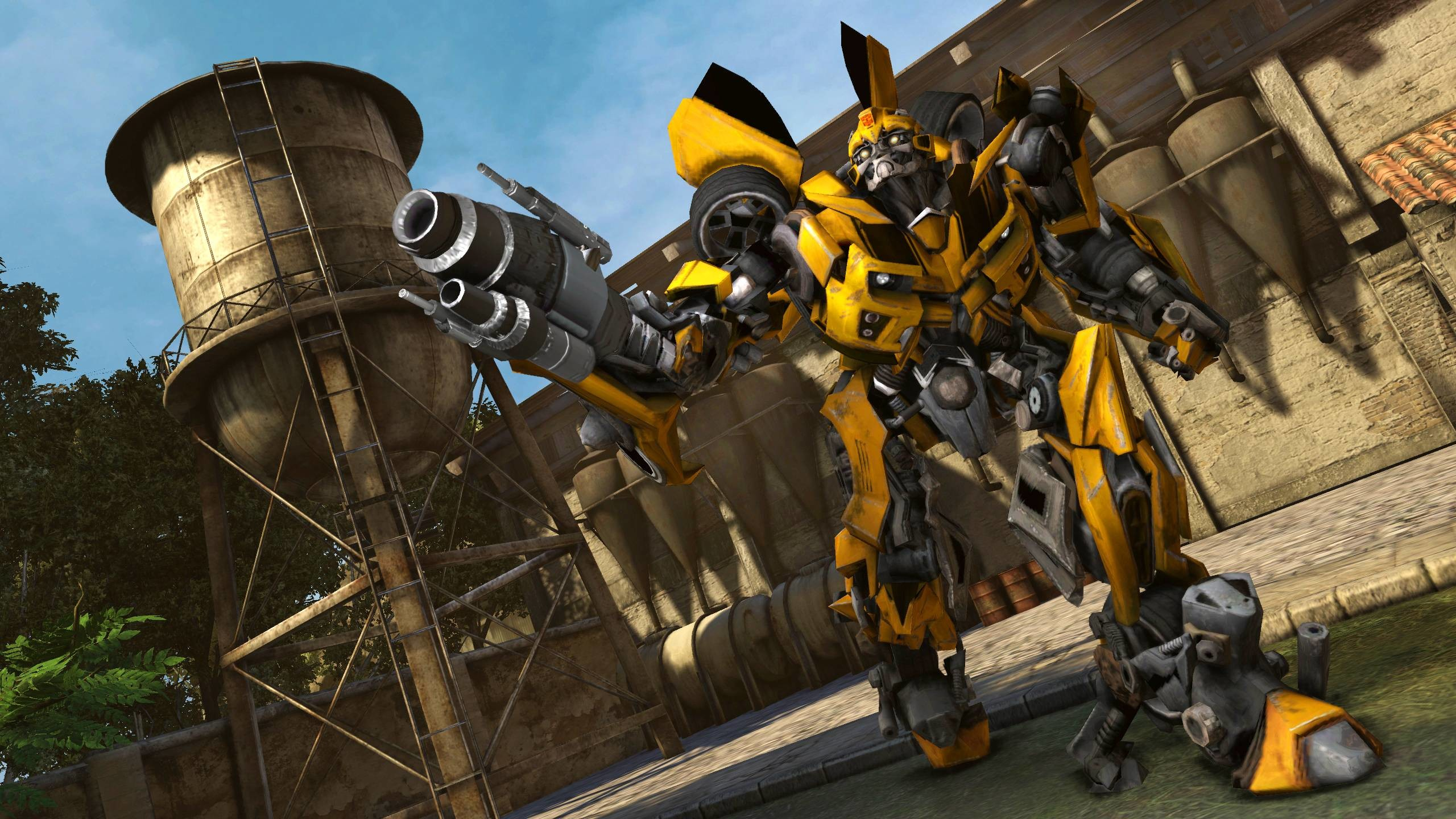 2560x1440 Transformers 2 Bumblebee Wallpaper