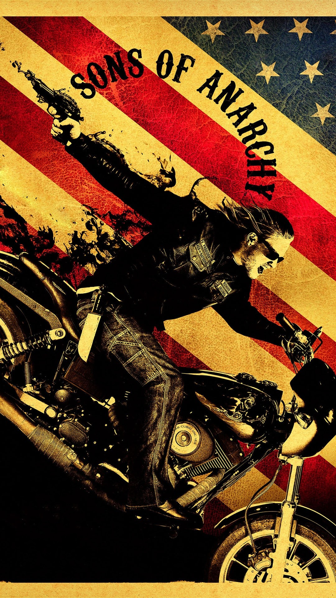 1080x1920 Click here to download  pixel Sons Of Anarchy Series Jax Teller  Motorcycle Android Best Wallpaper