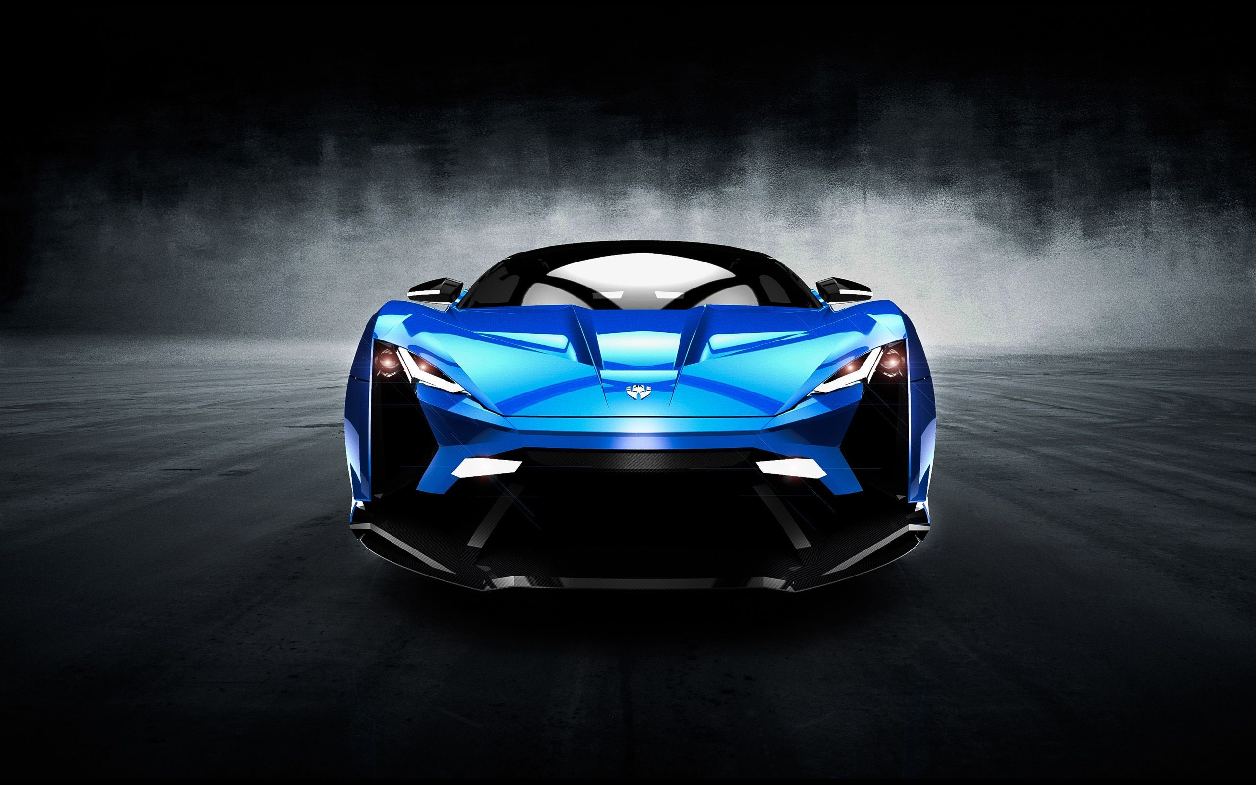 2560x1600 W Motors - SuperSport - Limited Edition Download Blue Car Sport Black  Background Wallpapers
