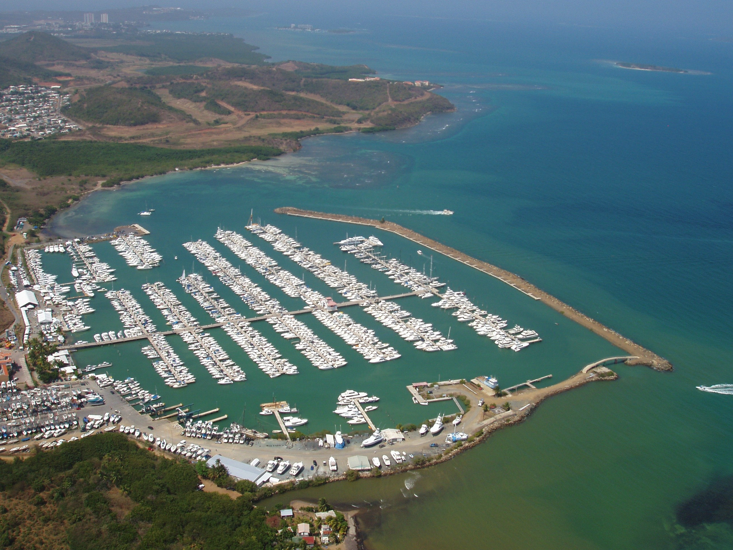 2560x1920 Fajardo, Puerto Rico - Puerto Del Rey Marina - this is the largest marina  in the Caribbean. We were staying in Fajardo for one night and I do not  know if it ...