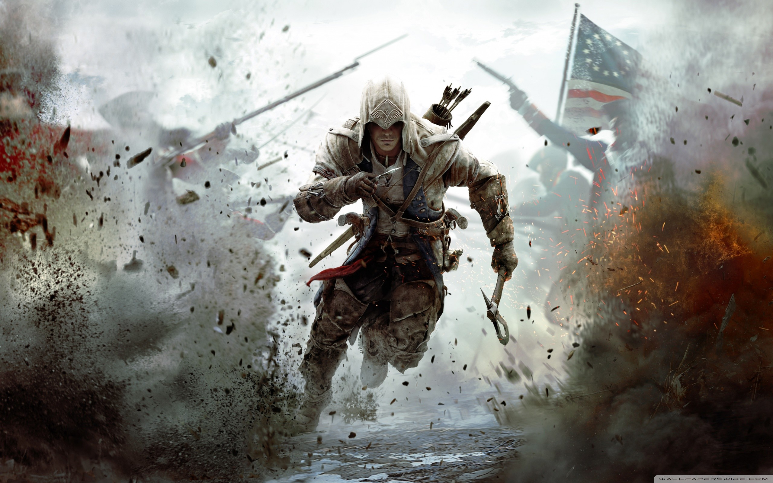2560x1600 Assassin's Creed 3 Connor Free Running HD Wide Wallpaper for 4K UHD  Widescreen desktop & smartphone