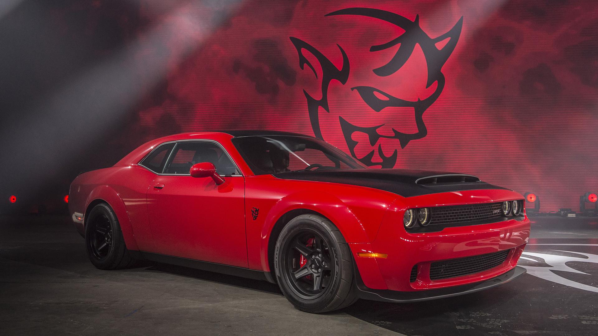 Black Dodge Demon Wallpaper