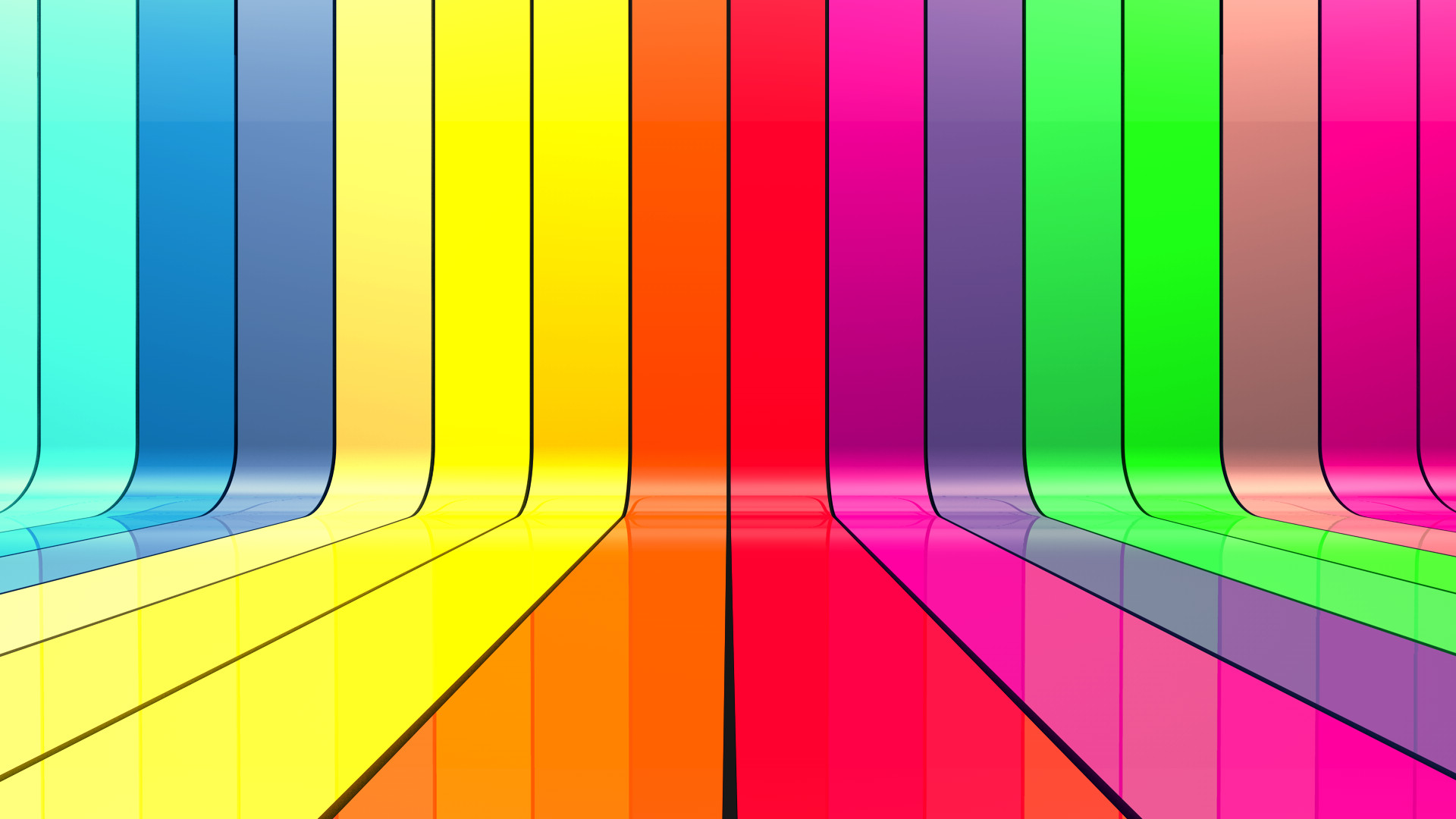 Colorful Striped Wallpaper 61 Images