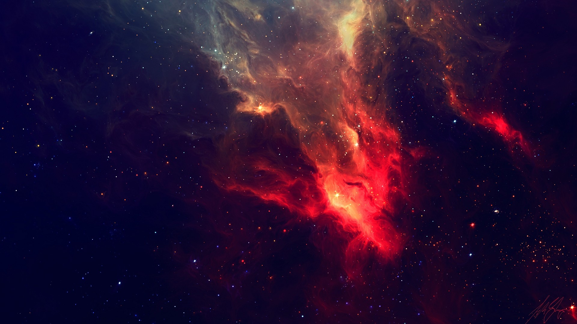 1920x1080 #space, #stars, #nebulae | Wallpaper No. 6693 - wallhaven.