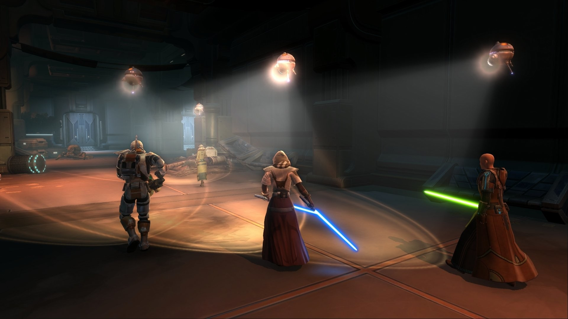 1920x1080 ... STAR WARS OLD REPUBLIC mmo rpg swtor fighting sci fi wallpaper