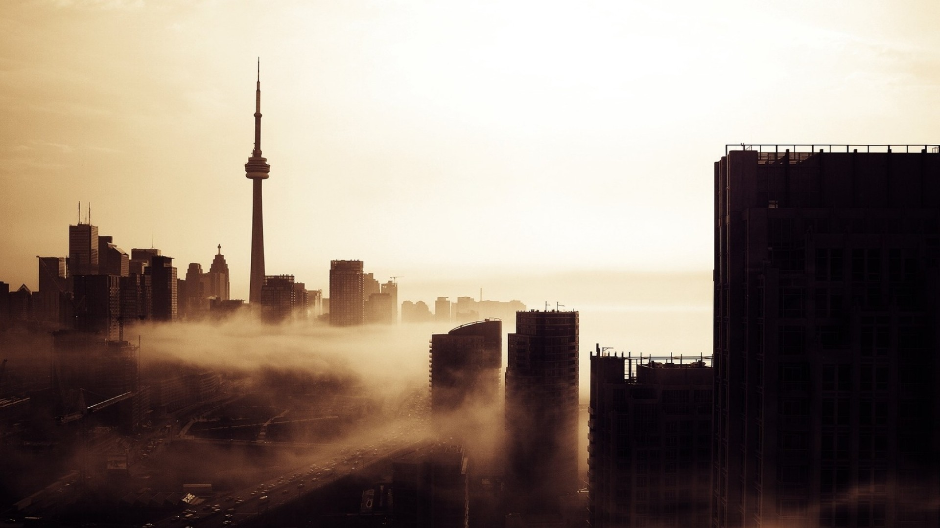 1920x1080 cool Toronto Skyline HD Image | AmazingPict.com - Wallpapers .