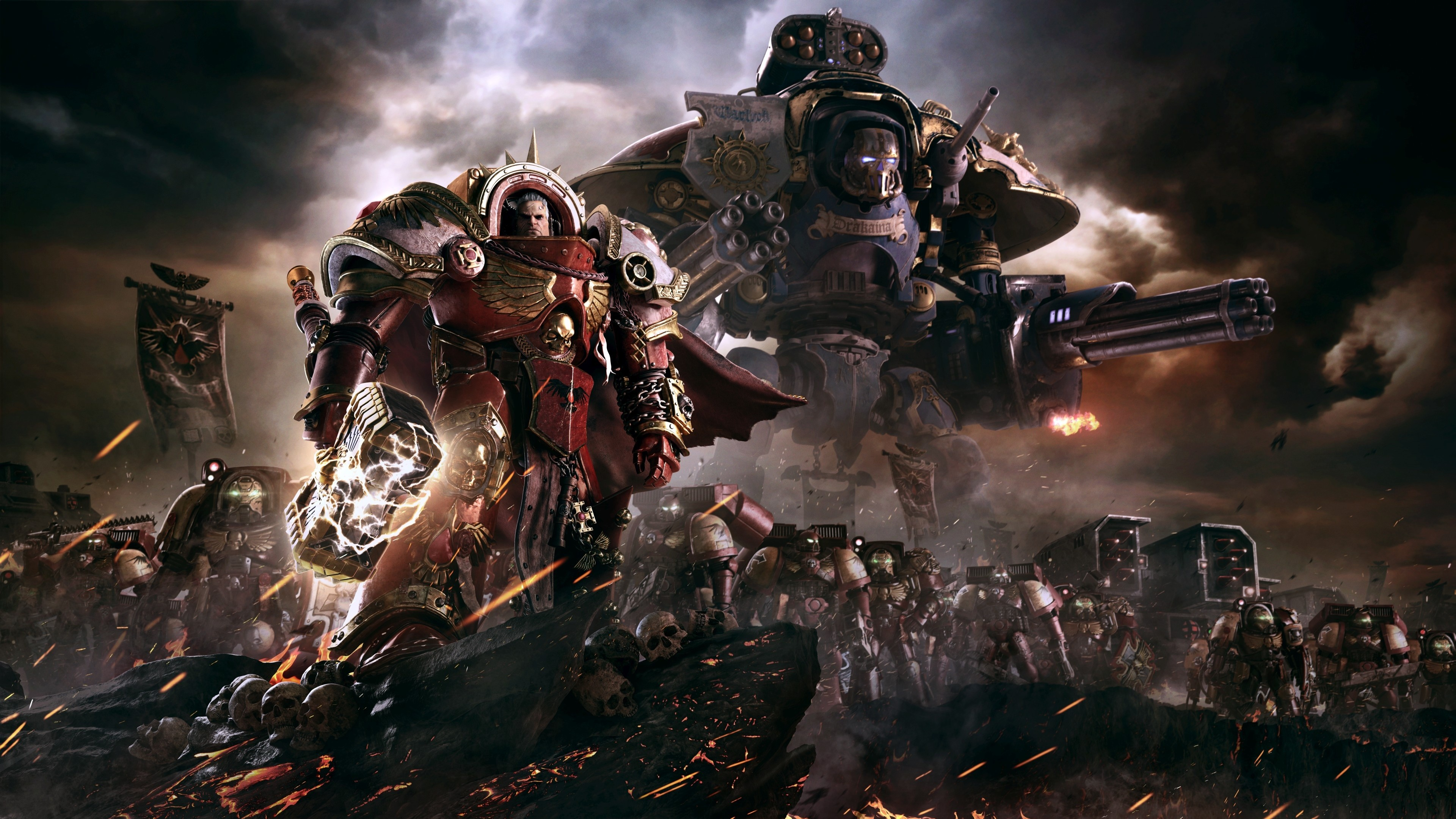 3840x2160 Warhammer 40K Dawn of War III 4K