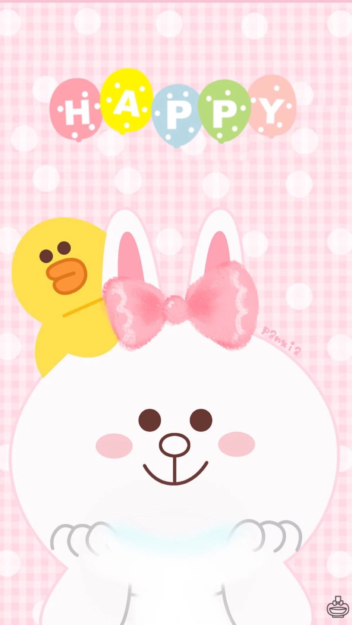 1242x2208 Hello Kitty And Friends