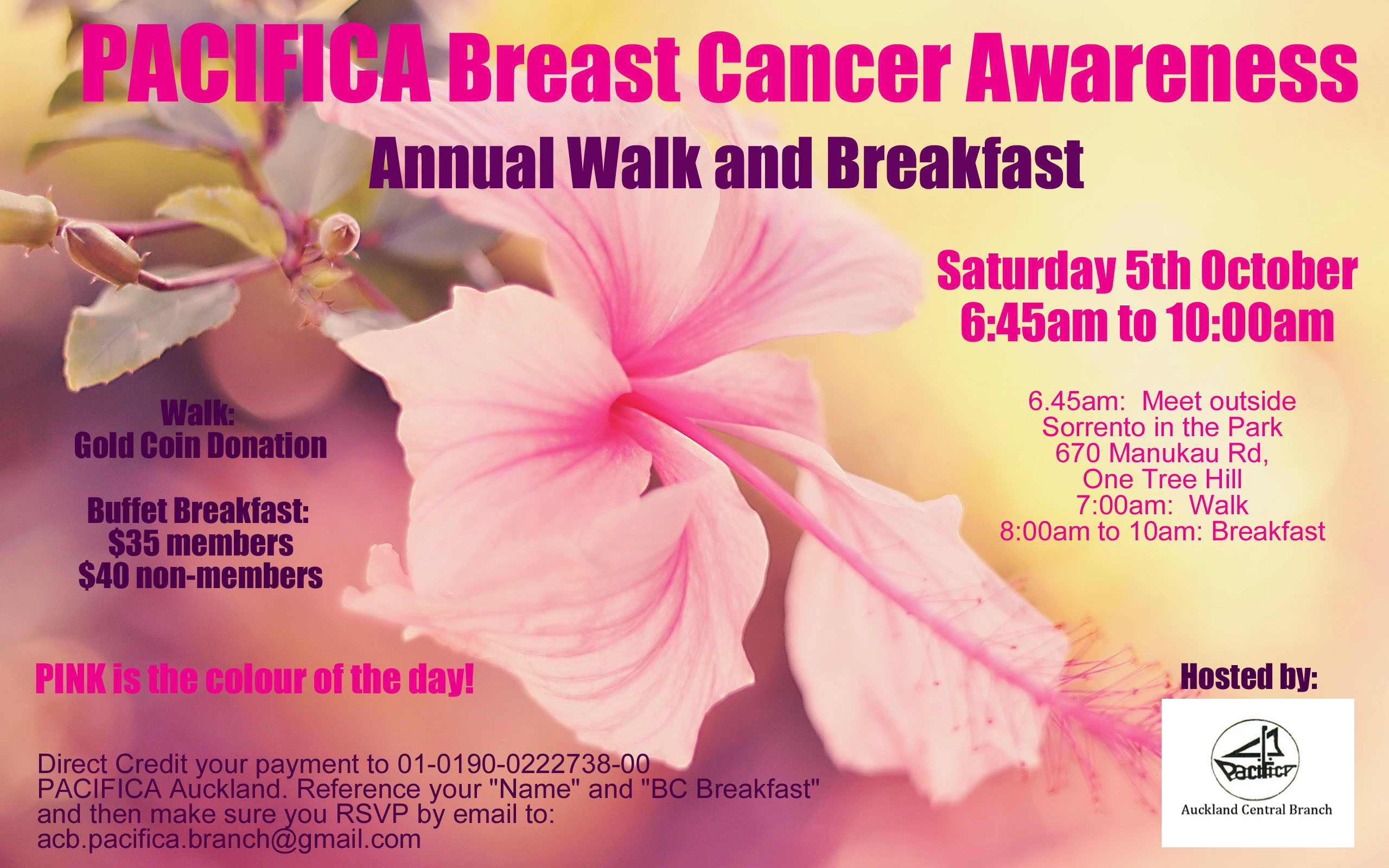 2560x1600 PACIFICA Breast Cancer Awareness Walk and Breakfast