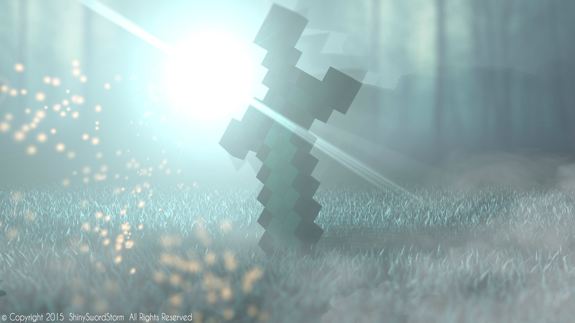 The Diamond Sword From Minecraft - Swish And Slash