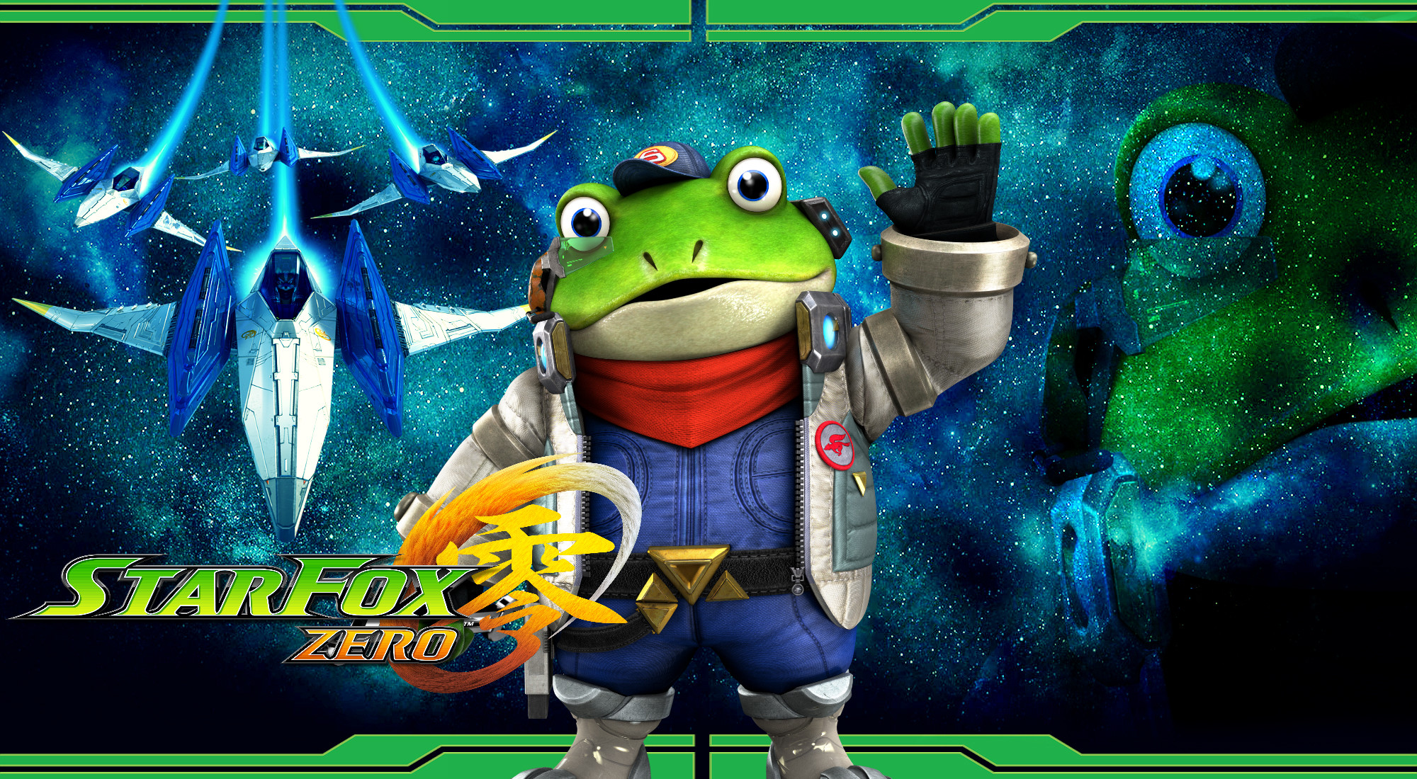 2000x1100 ... Star Fox Zero - Slippy Wallpaper by DaKidGaming