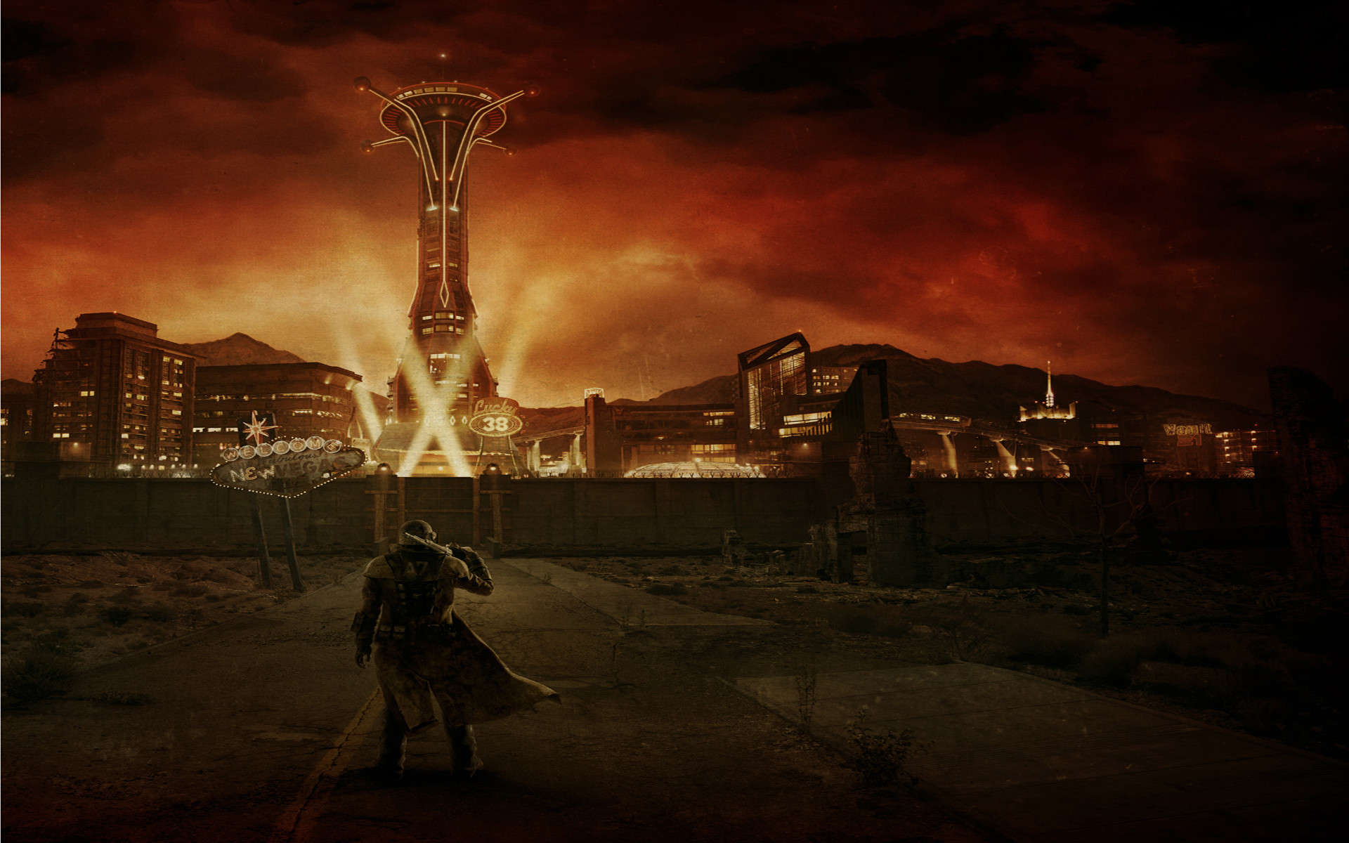 Fallout New Vegas Wallpaper 1080p (82+ images)