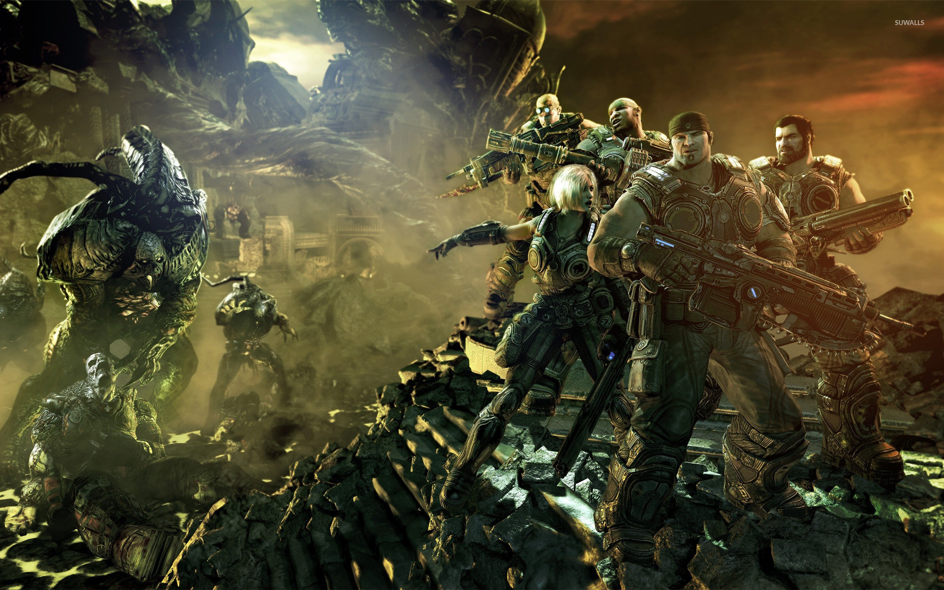 Gears Of War 2 Wallpaper 58 Images