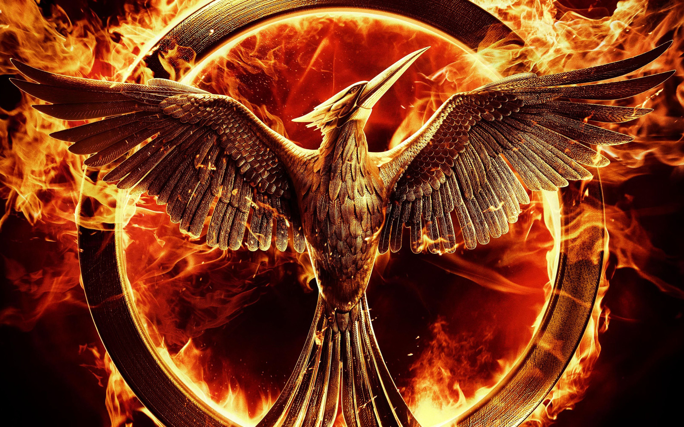 2880x1800 Movie - The Hunger Games: Mockingjay - Part 1 The Hunger Games Mockingjay  Fire Wallpaper