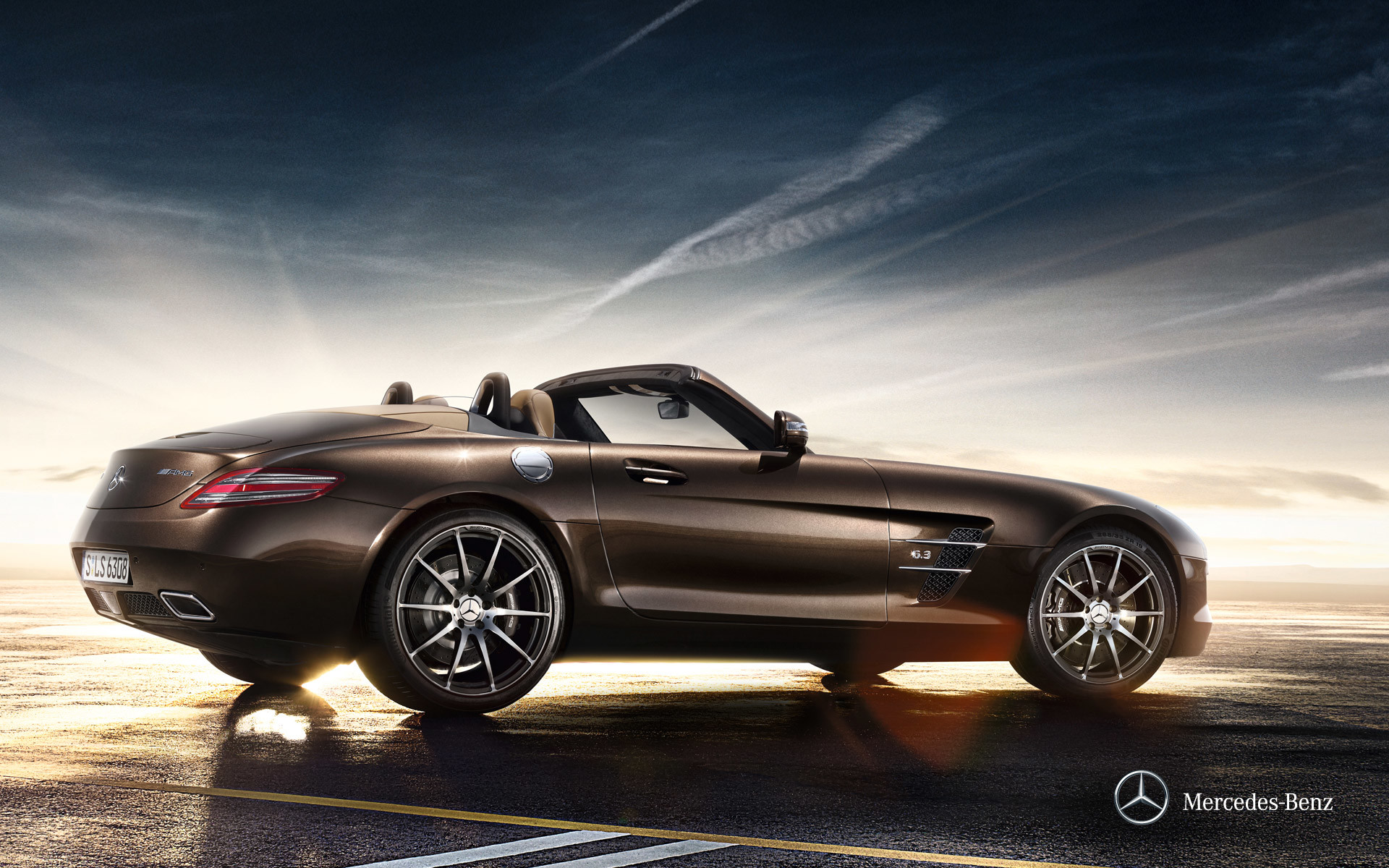1920x1200 Tags:  Roadster Mercedes-Benz