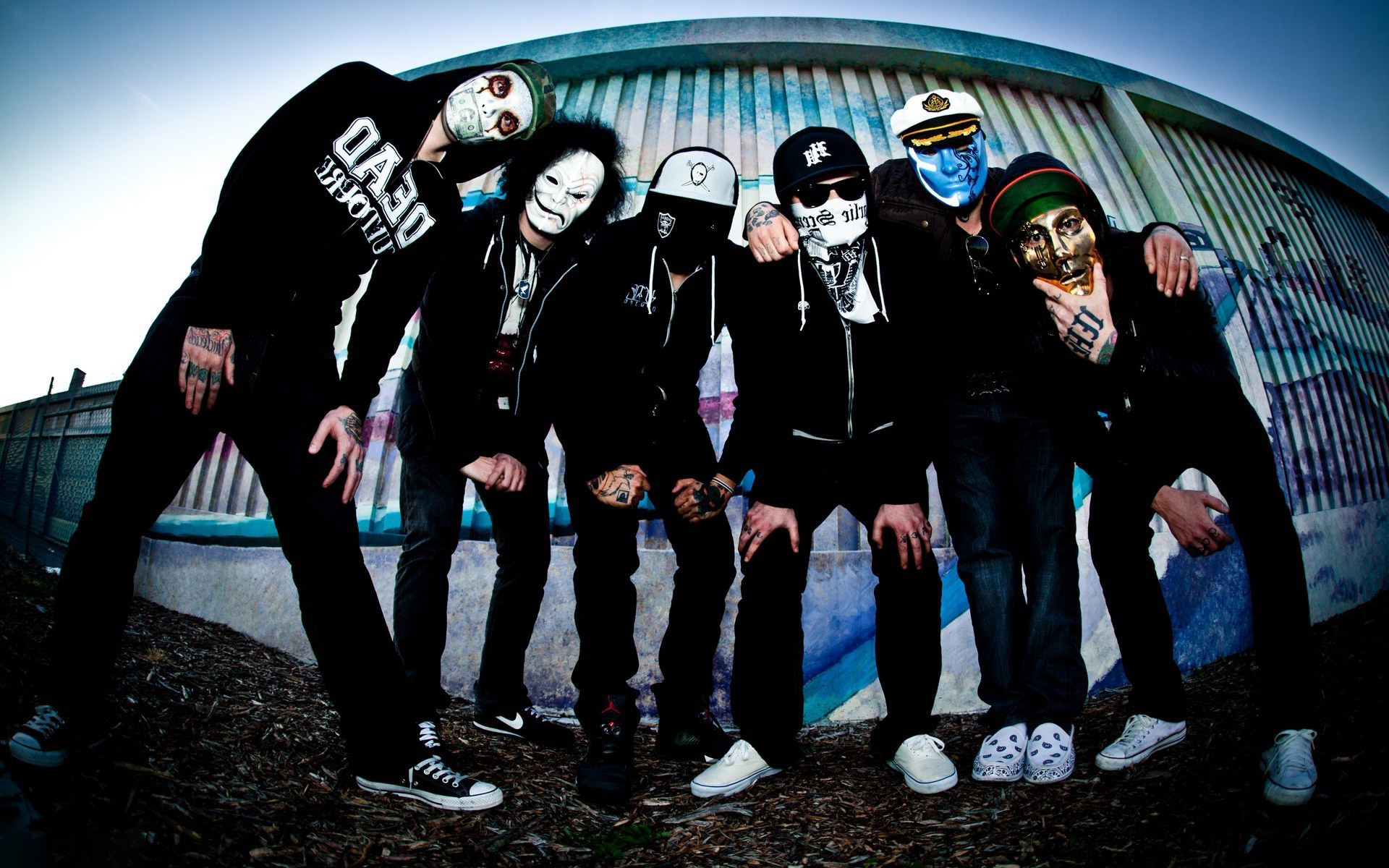 1920x1200 Hollywood Undead Background