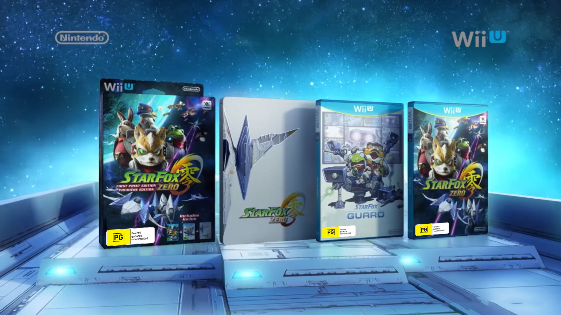 1920x1080 Star Fox Zero First Print Edition Includes:
