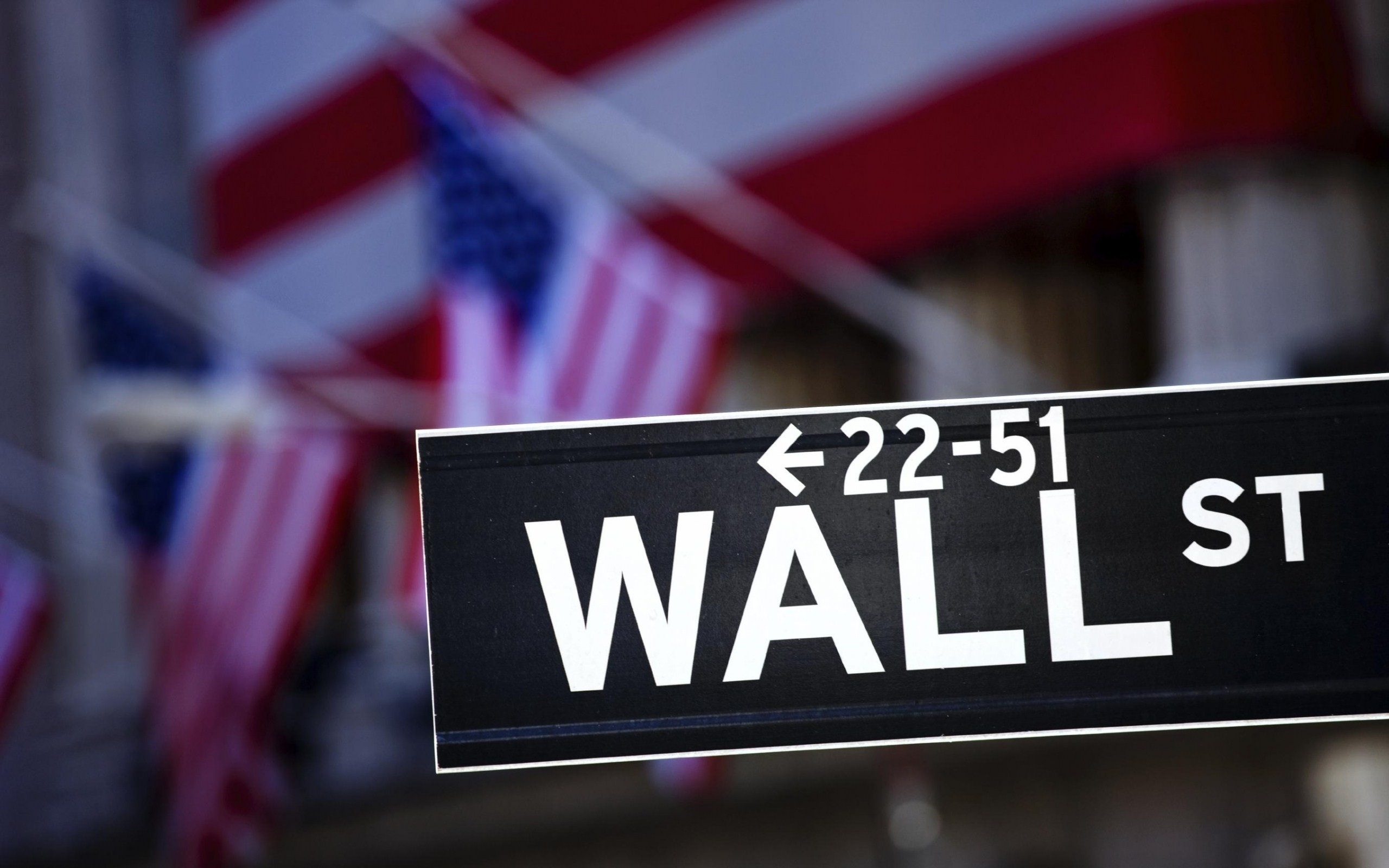 2560x1600 HD Wall Street Wallpaper 24182