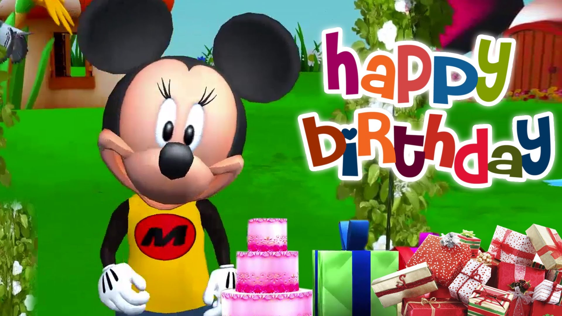 1920x1080 Mickey Mouse Birthday Song|Happy Birthday Song for Babies|Kids Favorite  Song|Children Song. - YouTube