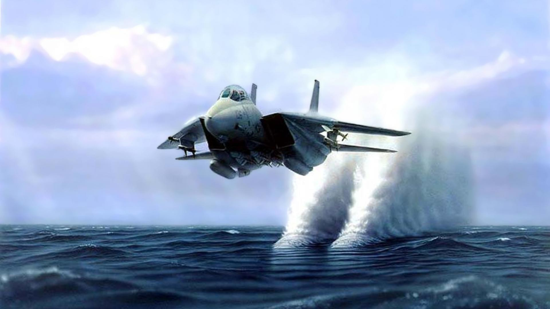 Jet Fighter Painting HD Desktop Wallpaper for K Ultra HD TV