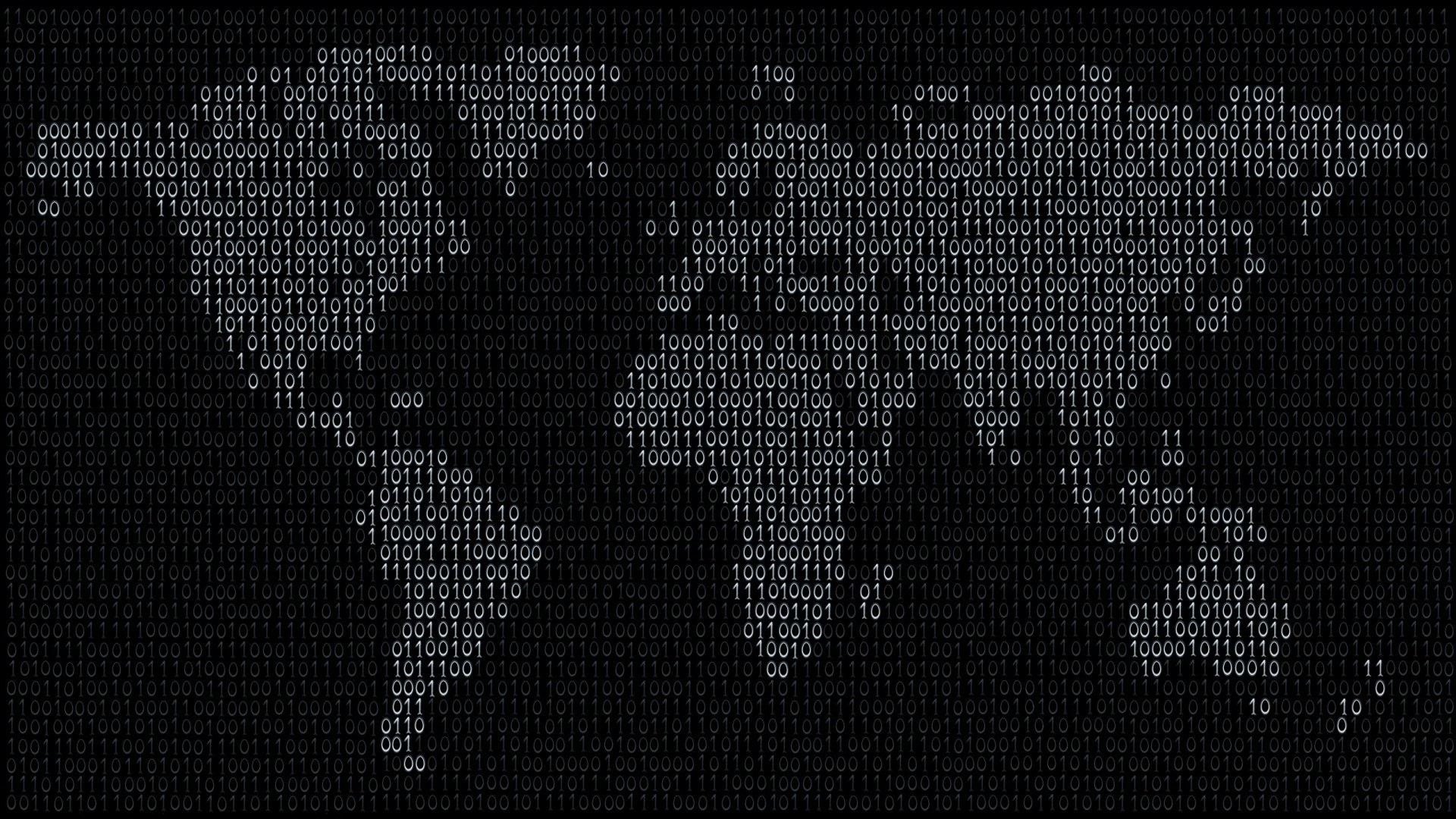 1920x1080 Download Free Binary Code Wallpaper.