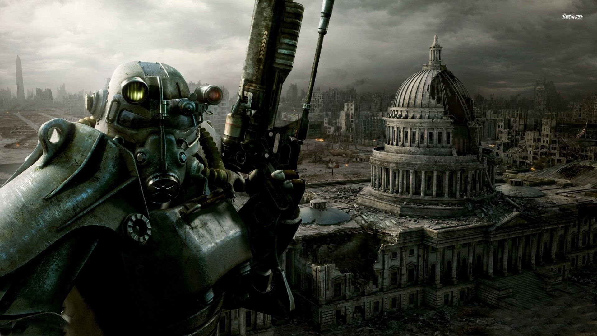 1920x1080 Fallout 3 Desktop Background