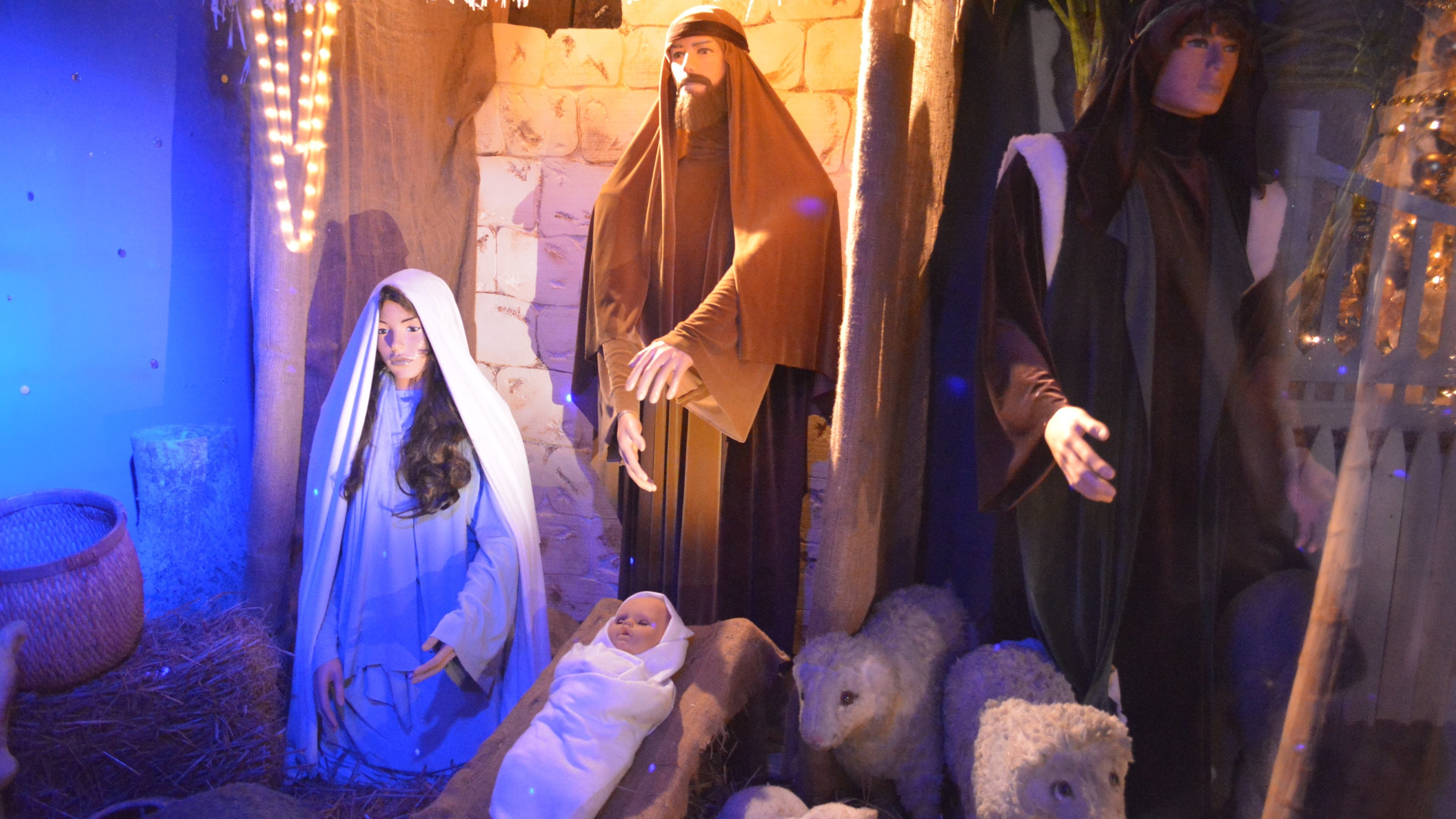 3840x2160 Birth of Jesus scene at every Christmas HD Wallpapers. 4K Wallpapers