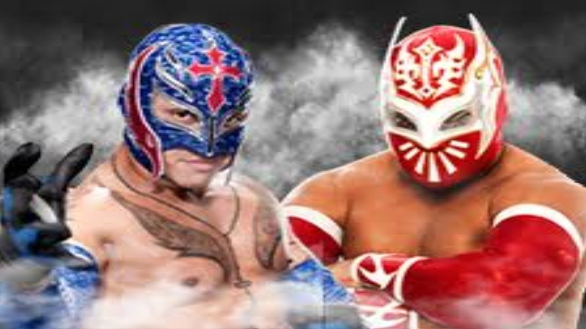 1920x1080 Sin Cara and Rey Mysterio vs. Cody Rhodes and Tensai - WWE Raw: September  03, 2012 - YouTube