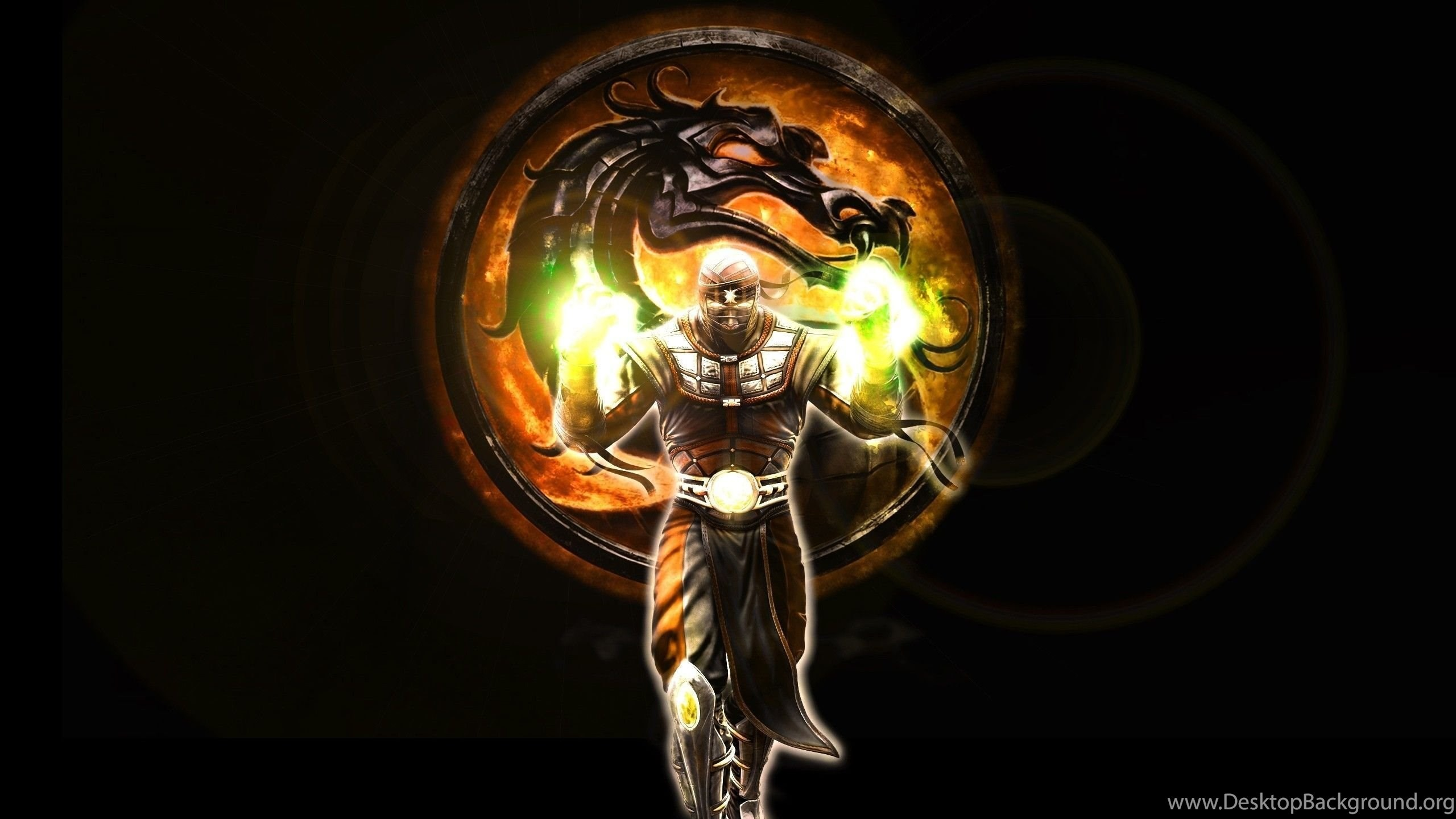 2560x1440 Free Download Full HD Mortal Kombat Logo Wallpaper, HQ Backgrounds ...  Desktop Background