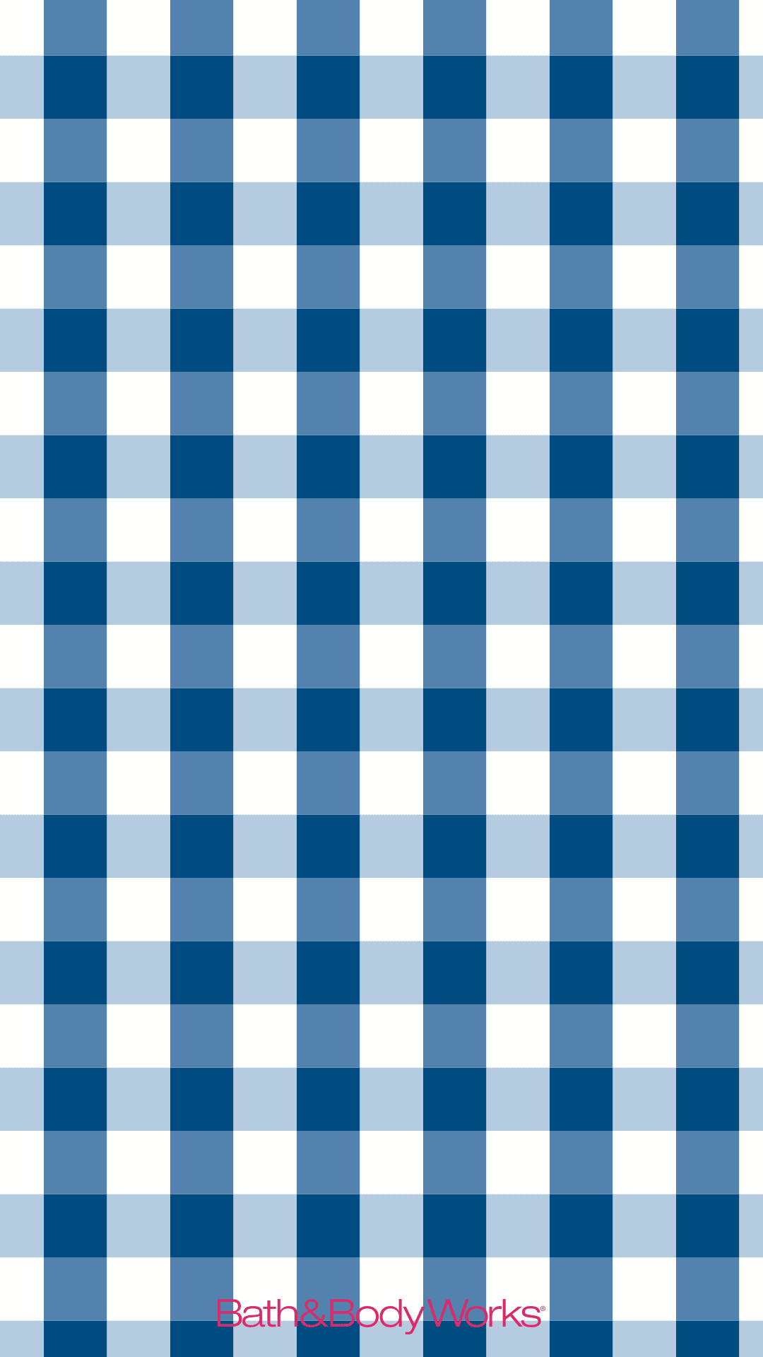 1080x1920 Blue Gingham iPhone Wallpaper