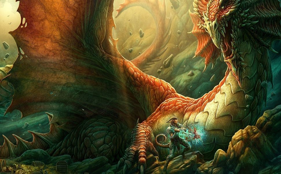 970x600 Kerem Beyit 1920x1080 HD Wallpaper Dragons And Wizards Wallpaper