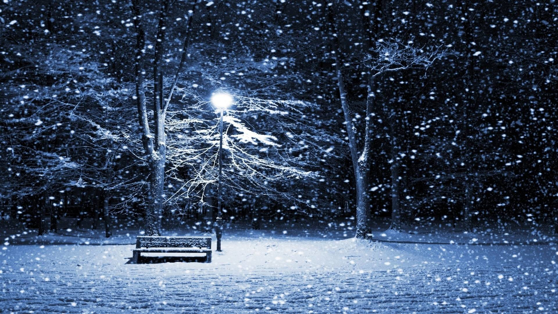 snowy christmas scenes wallpaper (48+ images)