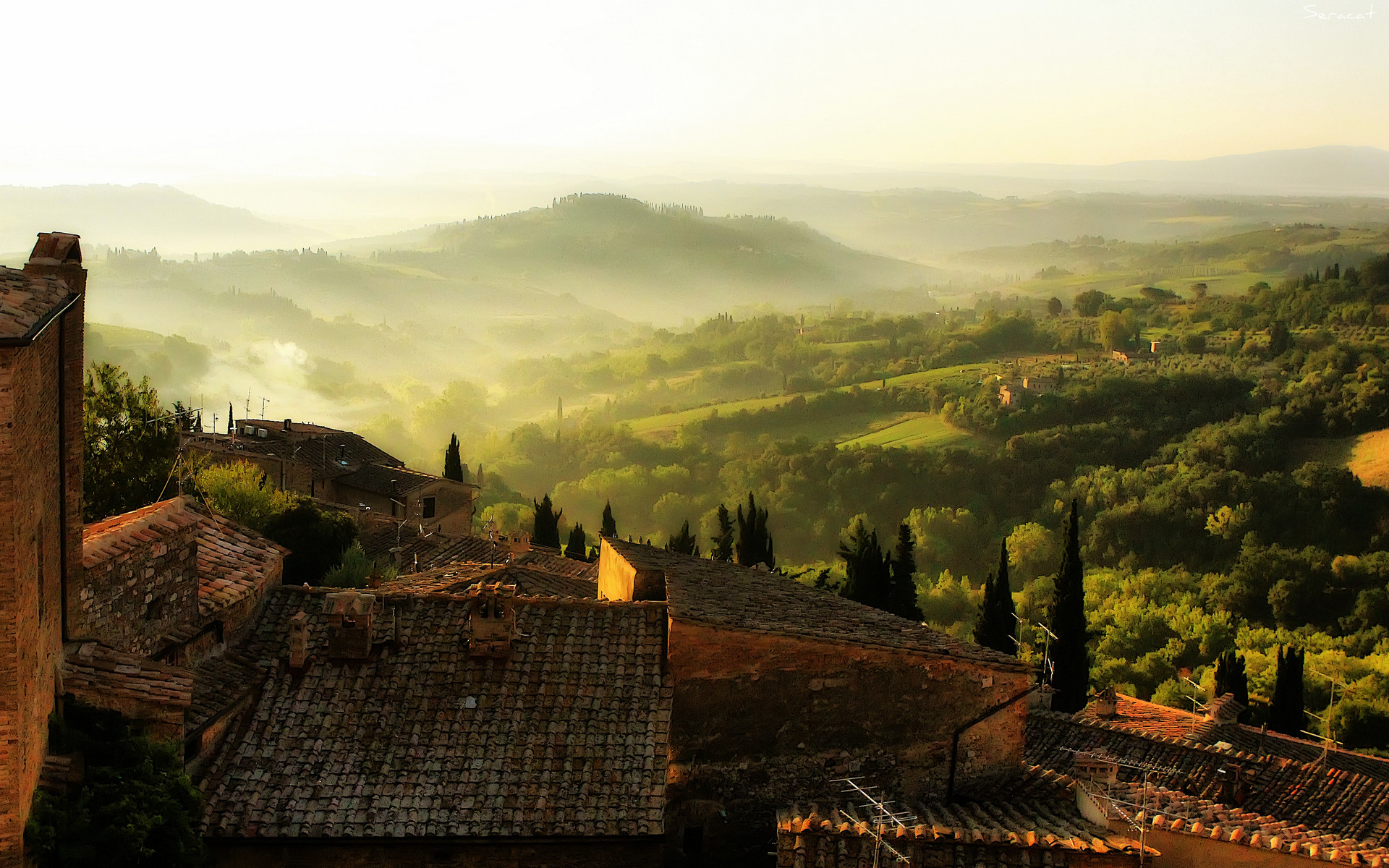 1920x1200 Tuscany Wallpaper