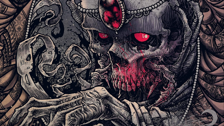 Horror skull wallpapers 44 images - Skeleton wallpaper ...