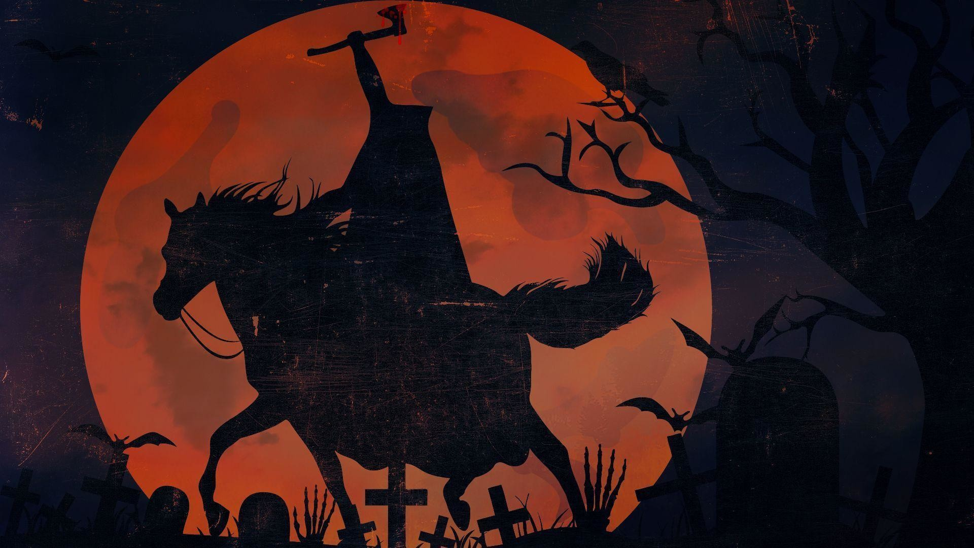 1920x1080 Sleepy Hollow Headless Horseman Wallpaper