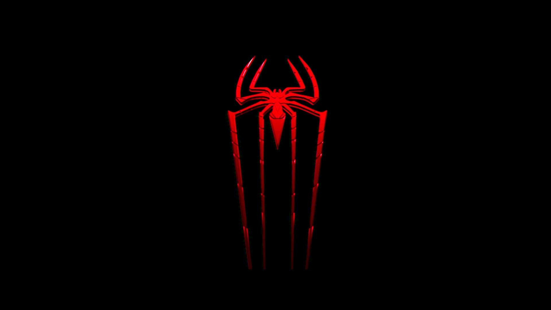 Red spiderman logo