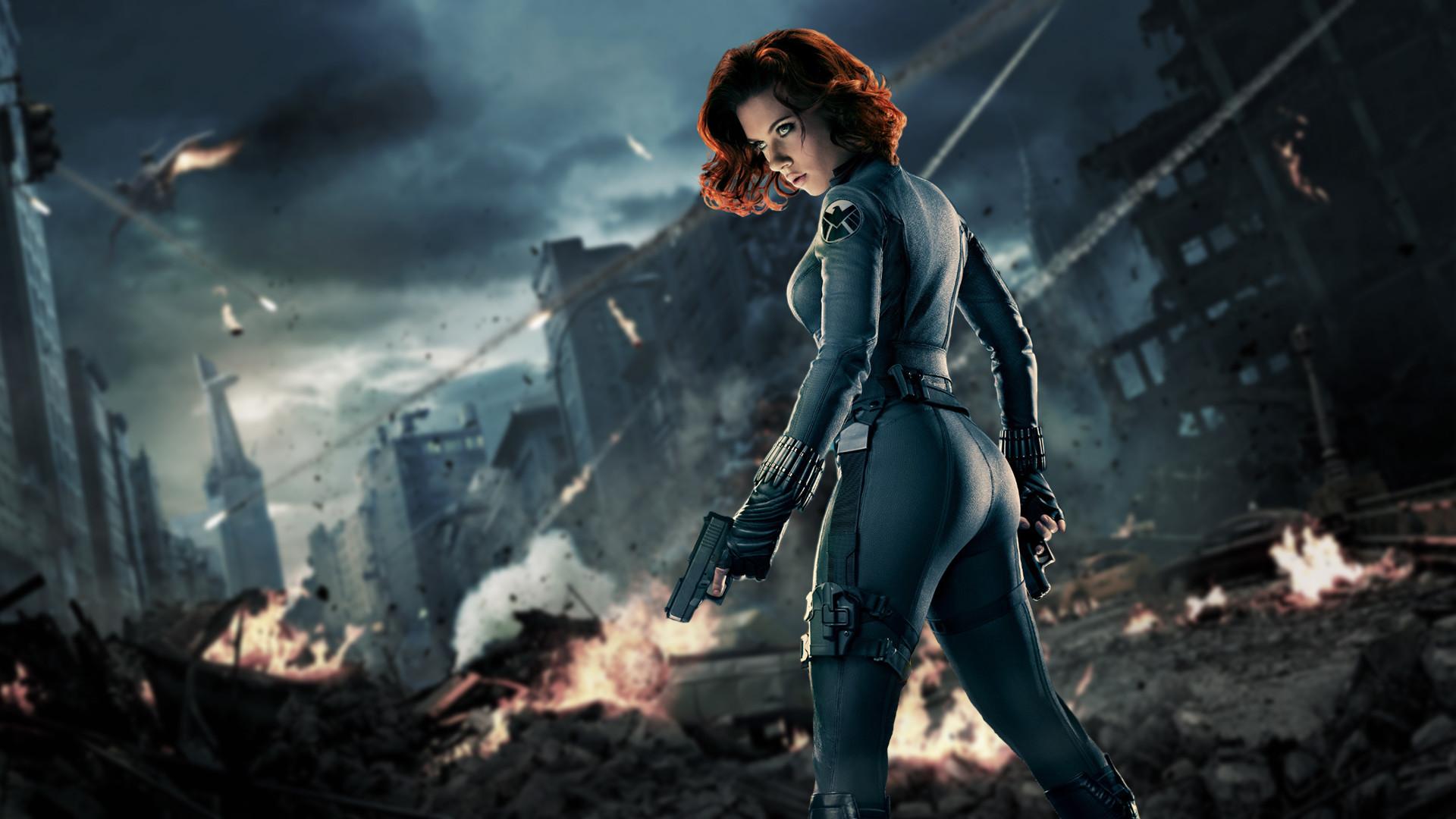 Scarlett Johansson Black Widow Wallpaper 76 Images