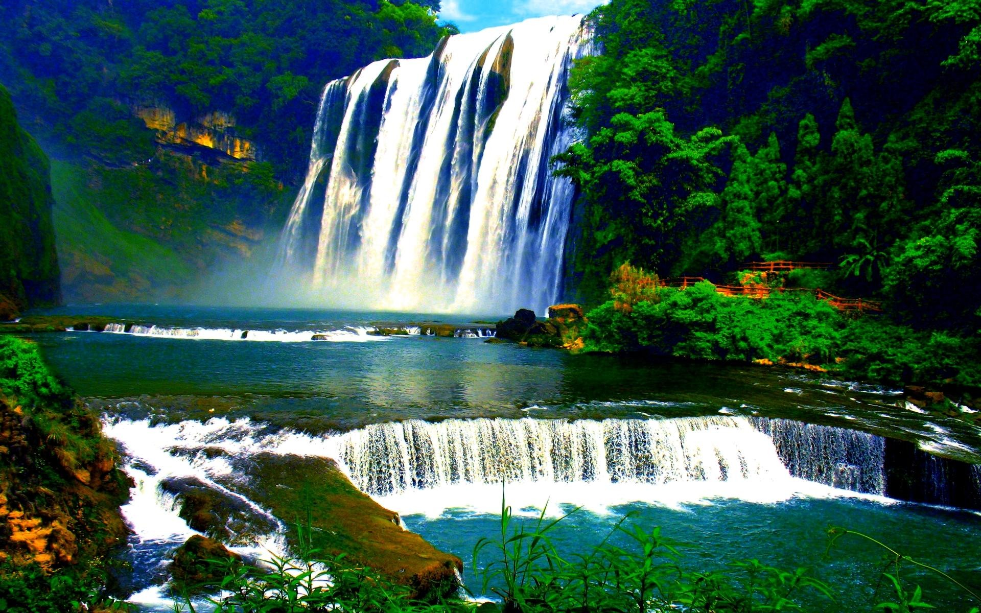 Live waterfalls wallpapers with sound 36 images - Waterfalls desktop wallpaper forest falls ...